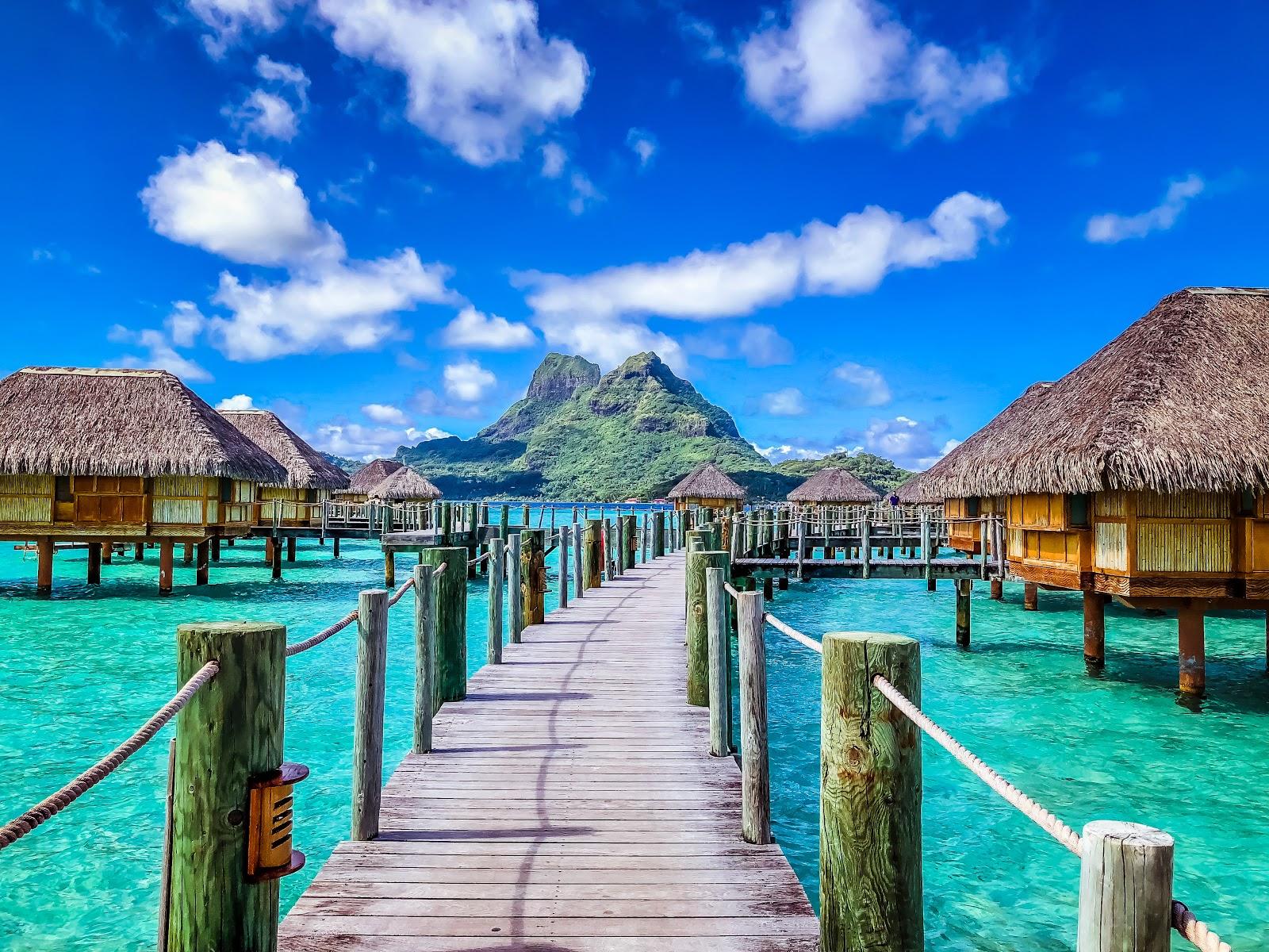 Honeymoon In Bora Bora The Amazing Races